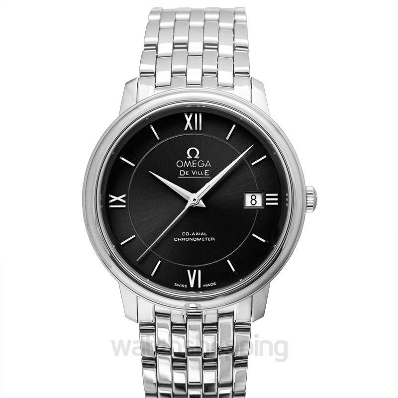 Omega De Ville Prestige Co‑Axial 36.8mm Automatic Black Dial Steel Unisex Watch