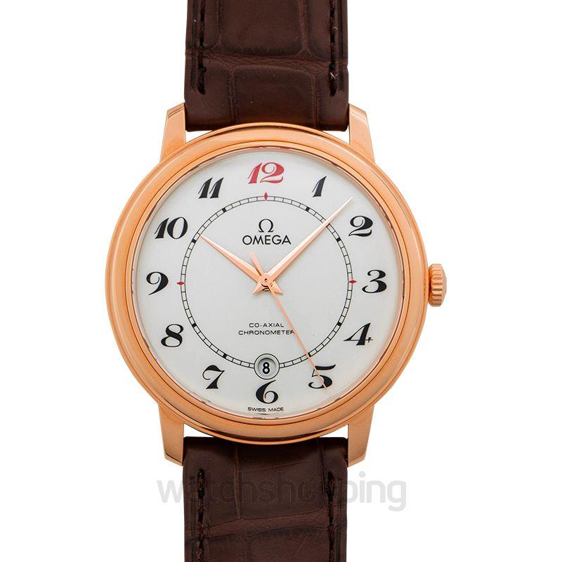 Omega De Ville Automatic White Dial Men's Watch