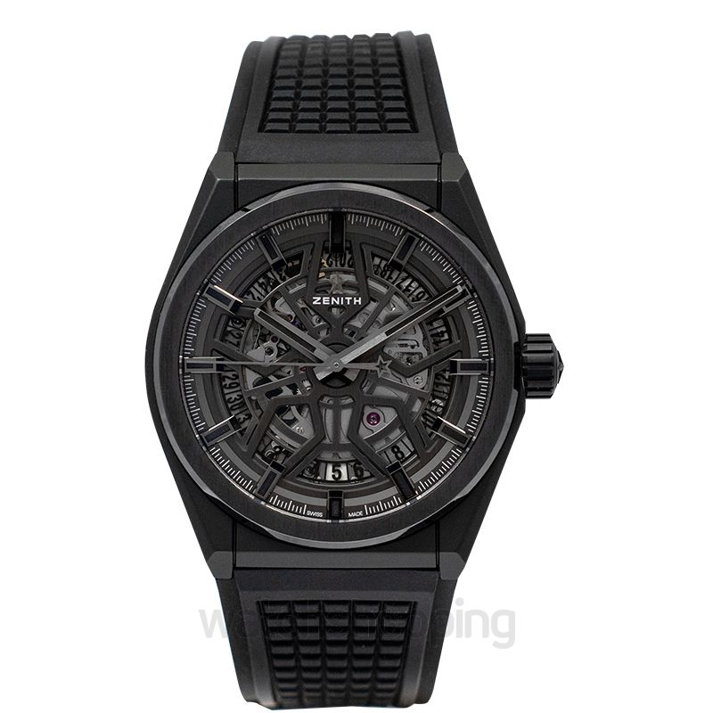 Zenith Zenith Defy Classic Ceramic Black Dial Mens Watch 41mm