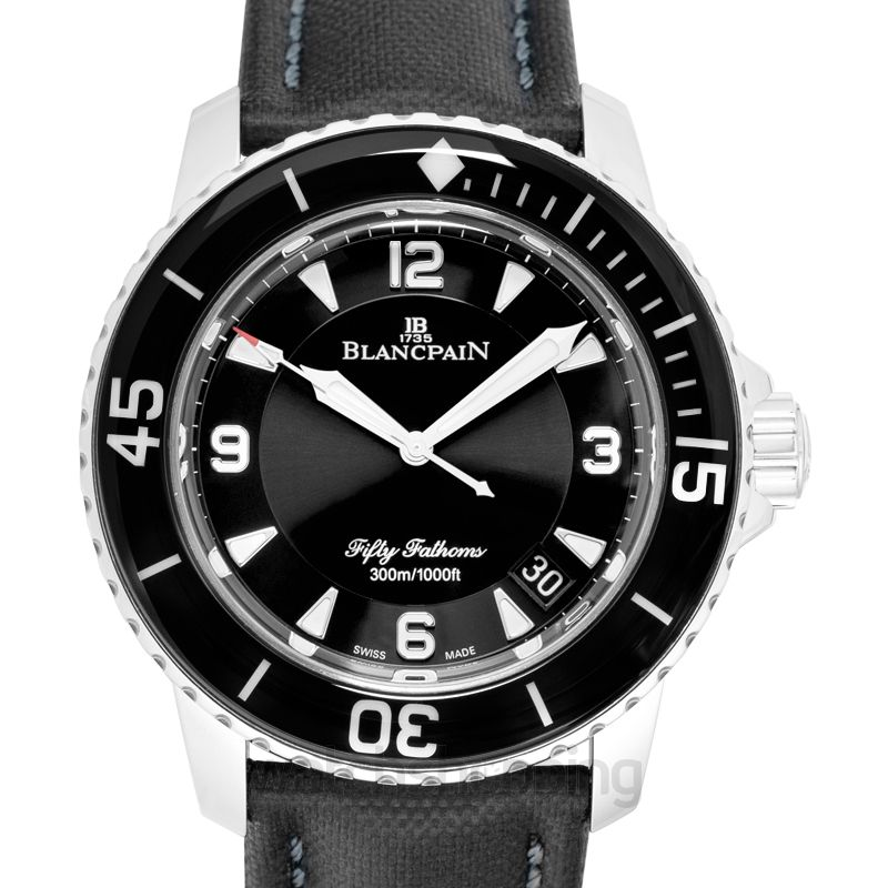 Blancpain Fifty Fathoms Automatic Black Dial Men's Watch
