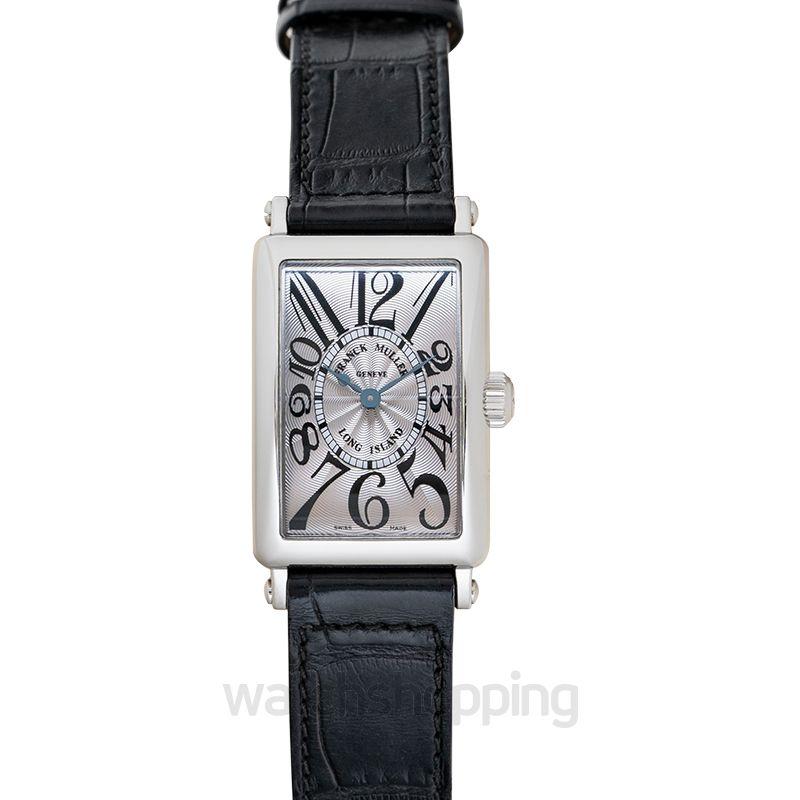 Franck Muller Long Island Dial Watch 902QZ SS Quartz Silver
