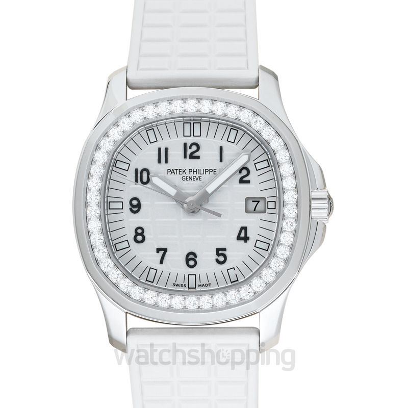 Patek Philippe Aquanaut White Dial Ladies Watch