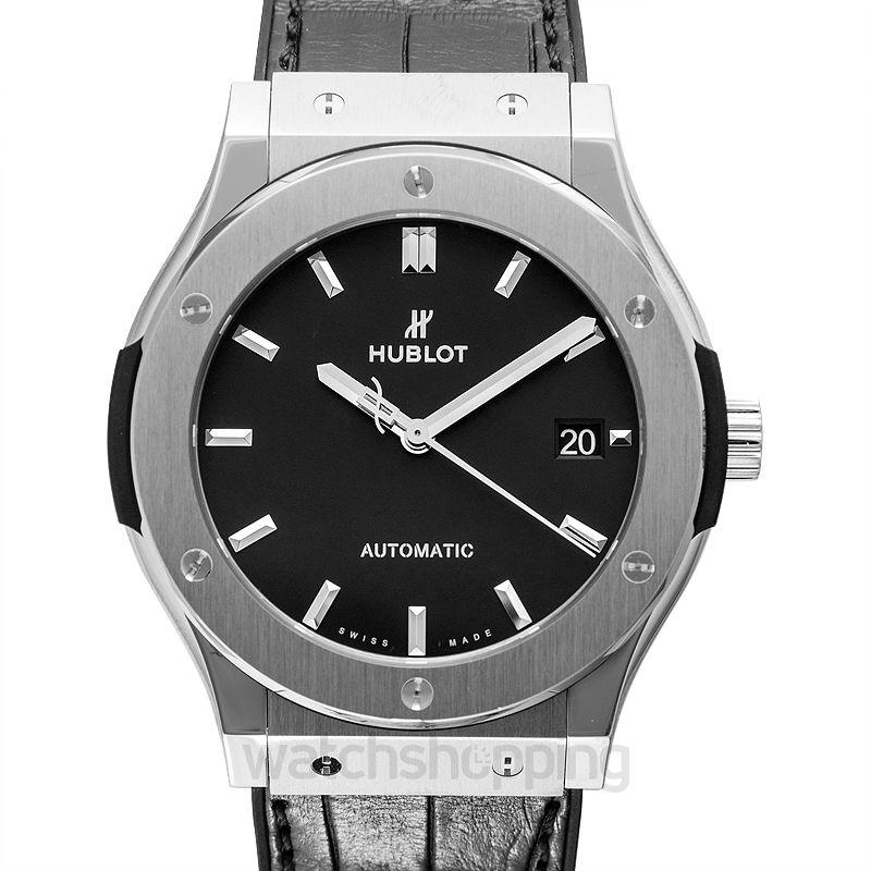 Hublot Classic Fusion Titanium Automatic Black Dial Men's Watch