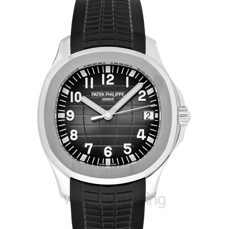 Patek Philippe Aquanaut Black Dial Men's Watch