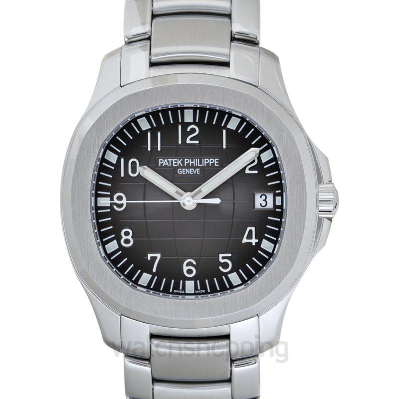 Patek Philippe Aquanaut Black Dial Men's Watch