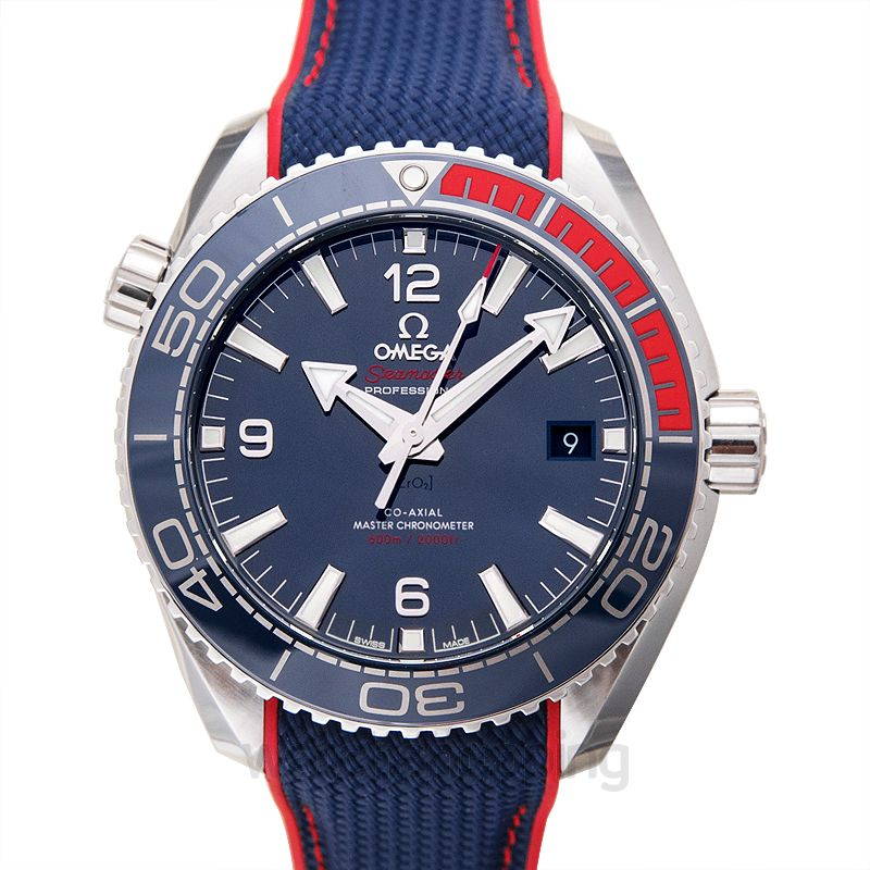 Omega Seamaster Planet Ocean 600m Co-Axial Master Chronometer 43.5mm Specialities Olympic Games Collection Automatic Blue Dial Steel Men's Watch