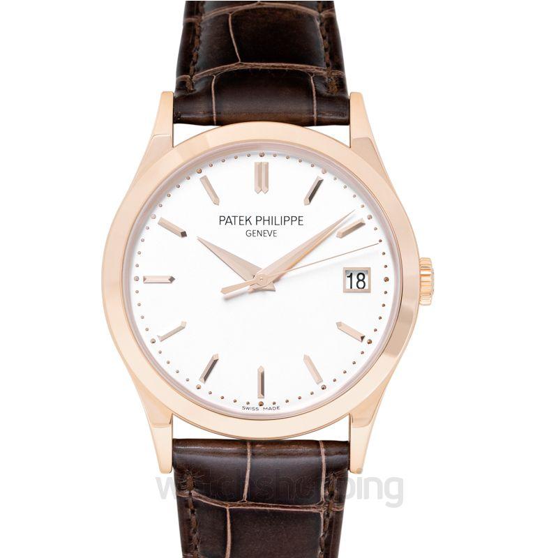 Patek Philippe Calatrava Silver Dial Men's Watch