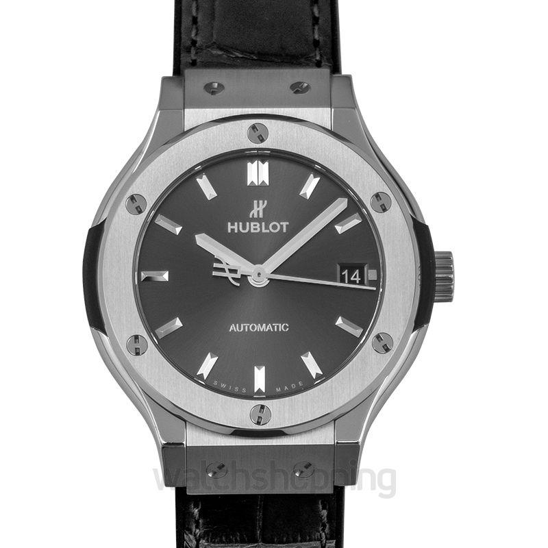 Hublot Classic Fusion Automatic Grey Dial Titanium Men's Watch