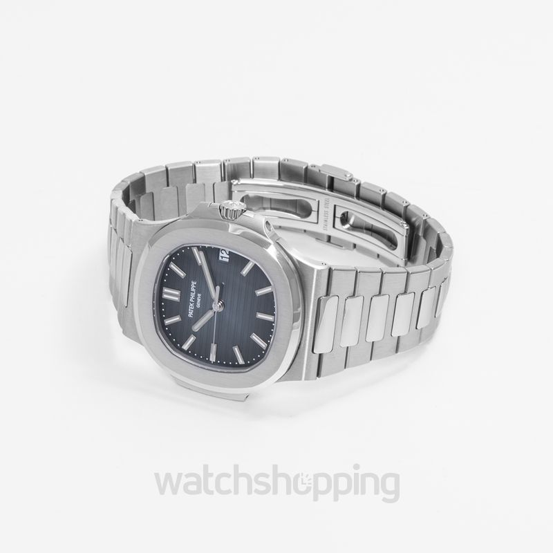 35971245886 New Patek Philippe Nautilus 5711 Stainless Steel / Blue 5711/1A-010 ...