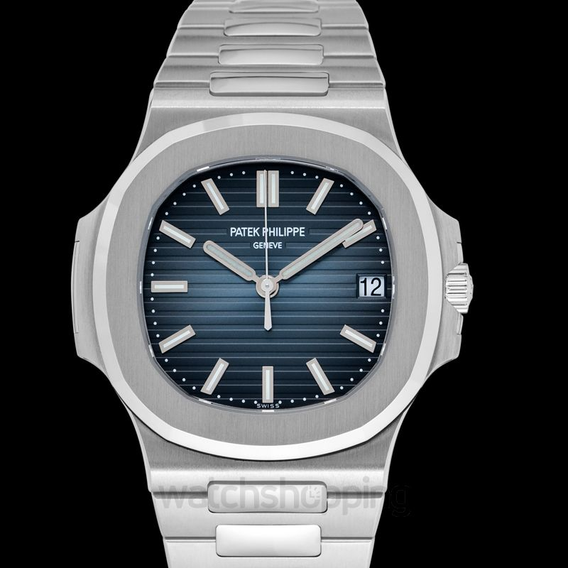 New Patek Philippe Nautilus 5711 Stainless Steel Blue 5711 1a 010