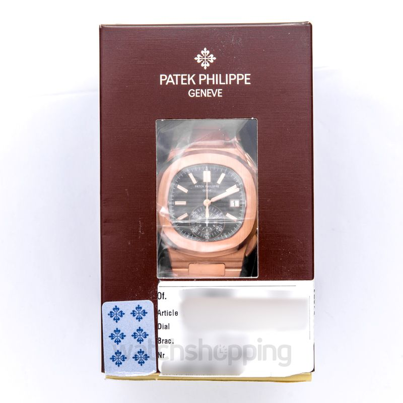 Patek Philippe Nautilus Black Dial Men's Watch