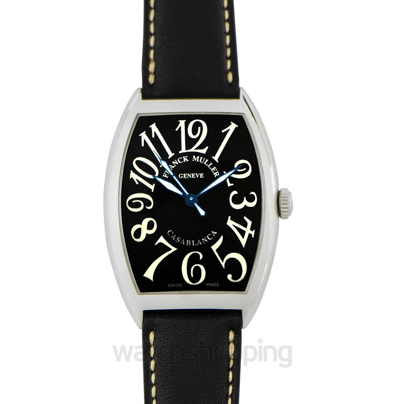 huge selection of 1ecee ad37c Franck Muller Casablanca Stainless Steel Black Automatic 34mm