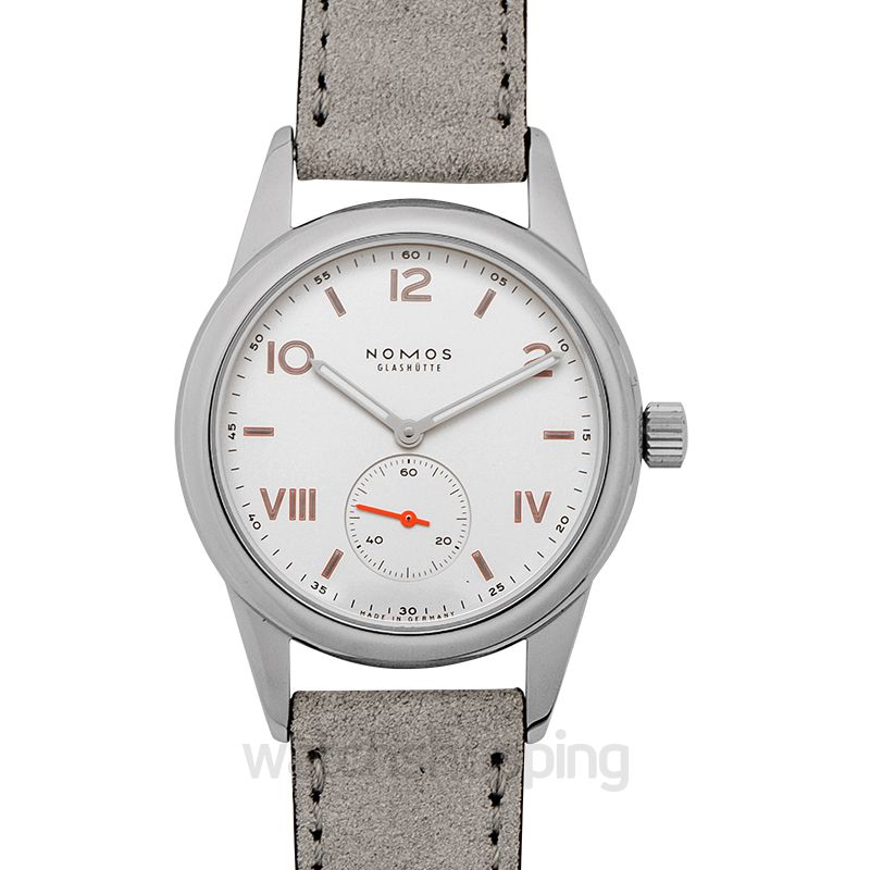 Nomos Glashütte Club Campus Manual-winding White Dial 36.0mm Unisex Watch