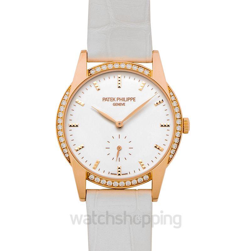 Patek Philippe Calatrava White Dial Ladies Watch