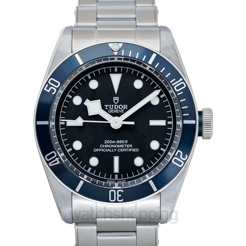 Tudor Heritage Black Bay Steel Automatic Black Dial Chronometer Men's Watch