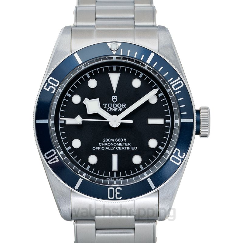 Tudor Heritage Black Bay Steel Automatic Black Dial Chronometer Men's Watch