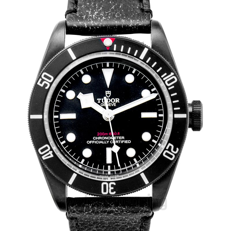 Tudor Heritage Black Bay Stainless Steel Automatic Black Dial Men's Watch