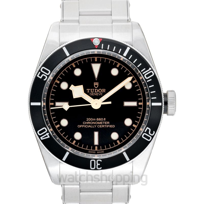 Tudor Heritage Black Bay Swiss Dive Steel Automatic Black Dial Men's Watch