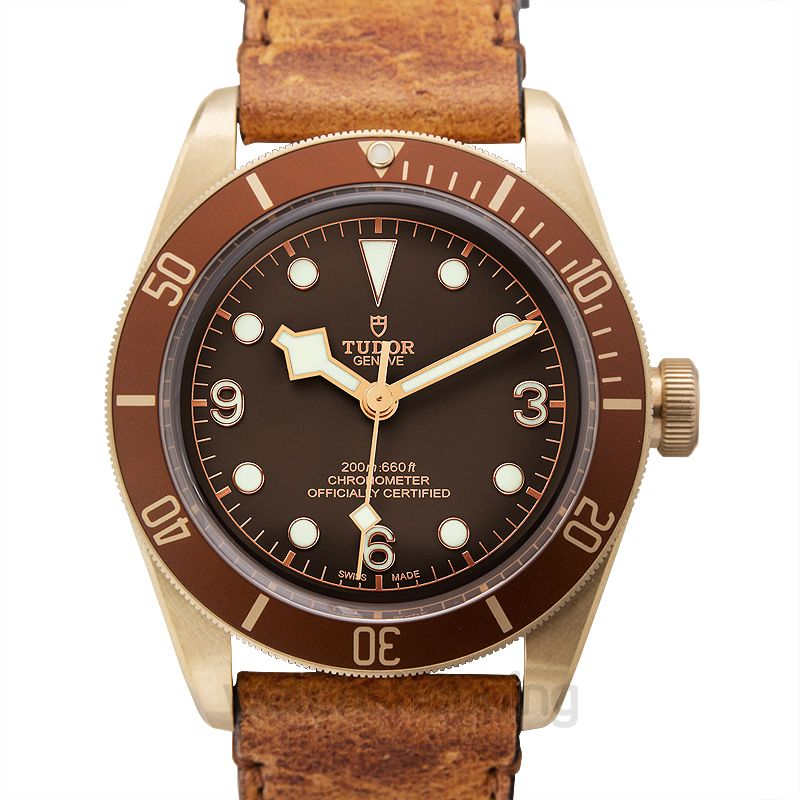 Tudor Heritage Black Bay Stainless steel Automatic Brown Dial Men's Watch