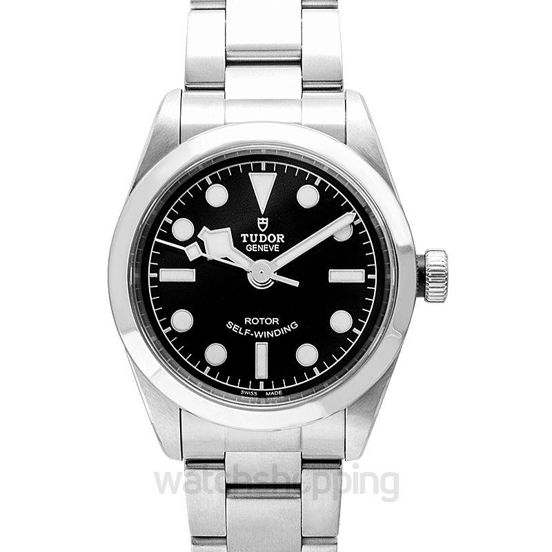 Tudor Heritage Black Bay Automatic Black Dial Ladies Watch
