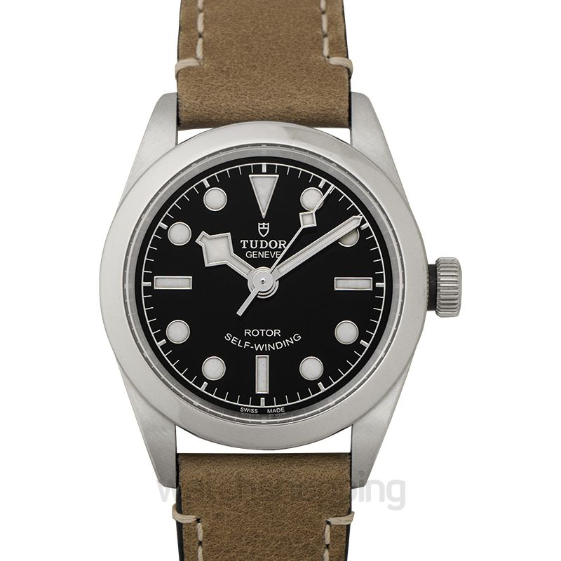 Tudor New Heritage Black Bay 32 Baselworld 2018 Stainless Steel Automatic Black Dial Ladies Watch