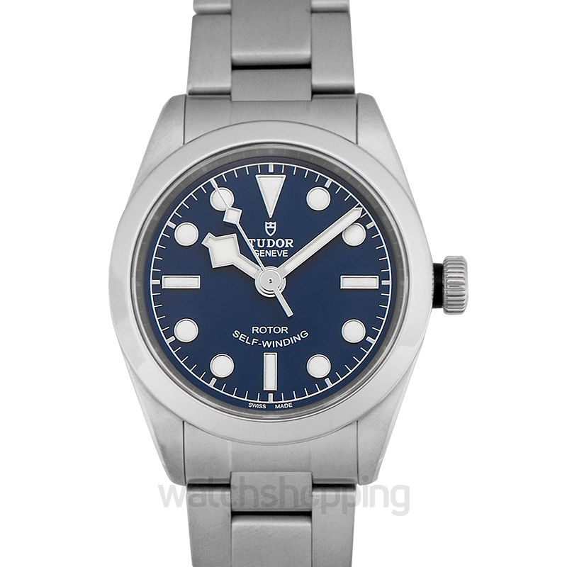 Tudor Black Bay Automatic Blue Dial Ladies Stainless Steel Watch