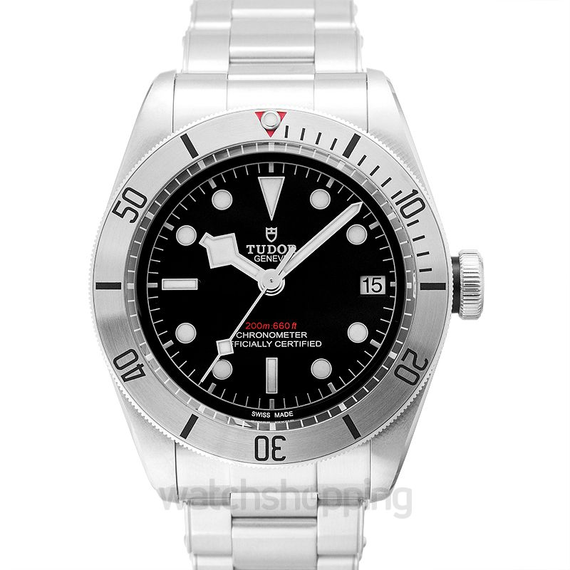 Tudor Heritage Black Bay Chronometer Stainless Steel Automatic Black Dial Men's Watch