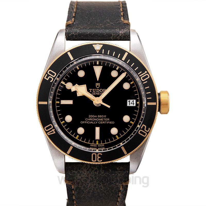 Tudor Heritage BlackBay Stainless Steel Automatic Black Dial Men's Watch