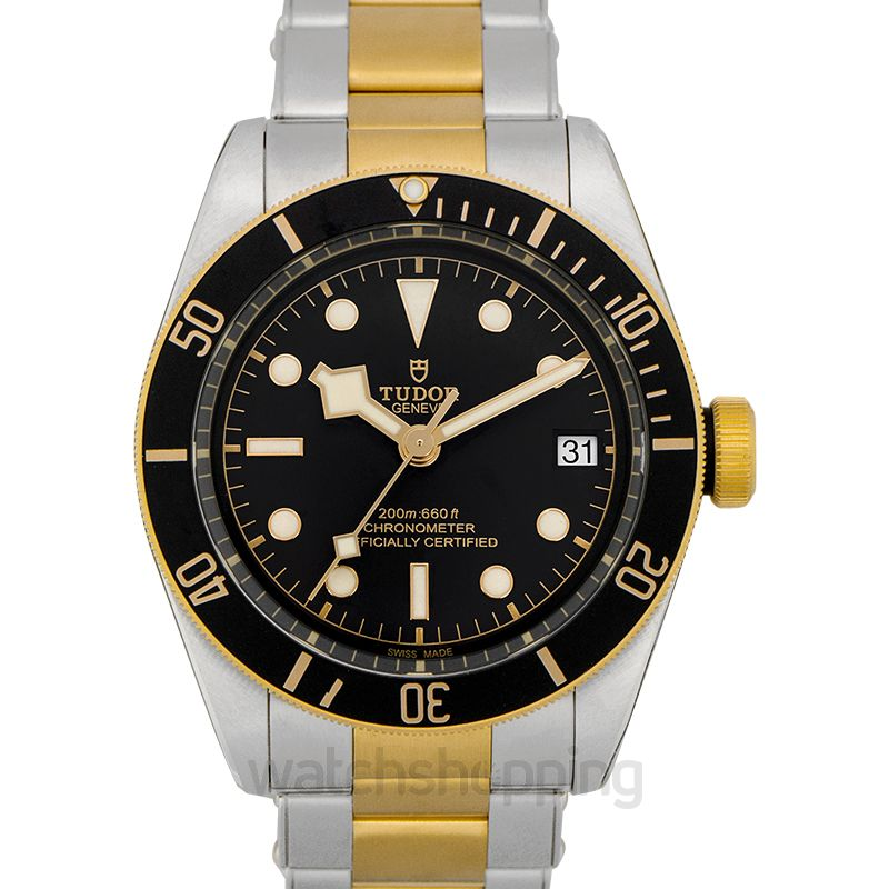 Tudor Heritage Black Bay Automatic Black Dial Men's Watch
