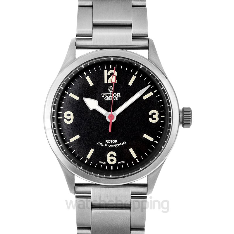Tudor Heritage Ranger Stainless steel Automatic Black Dial Men's Watch