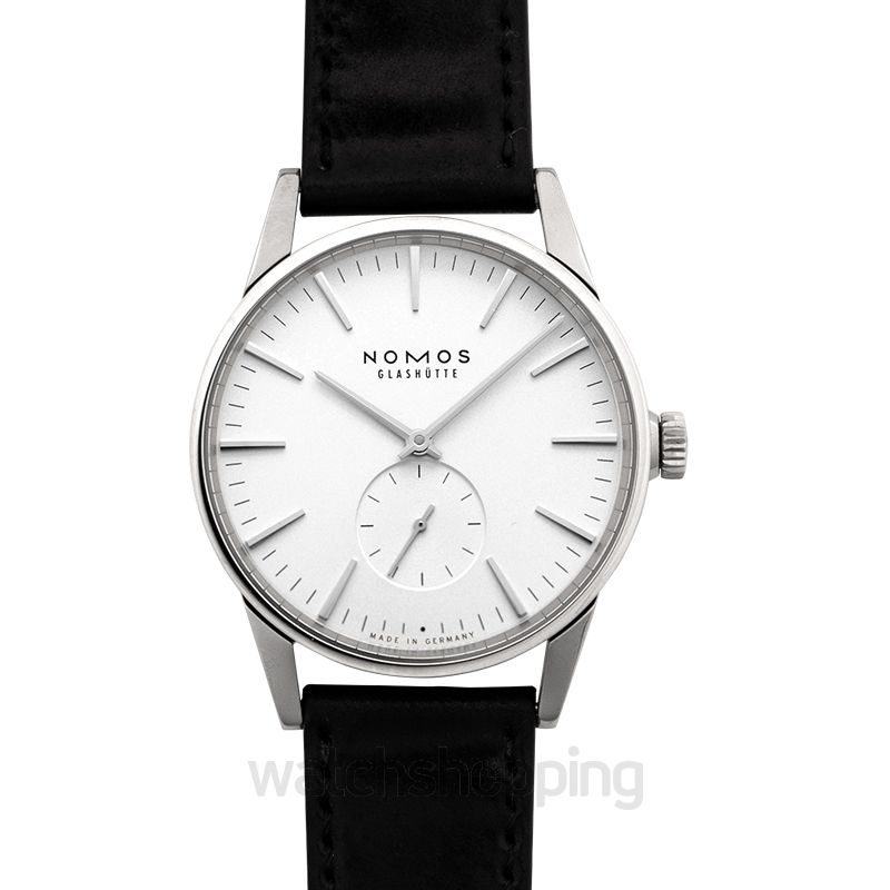 Nomos Glashütte Nomos Glashütte Zurich World Time Silver/Leather 39.7mm