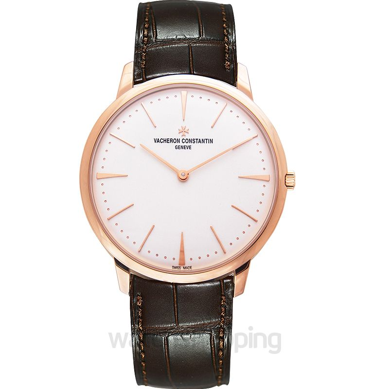 Vacheron Constantin Patrimony Silver Dial Manual-winding Men's Watch