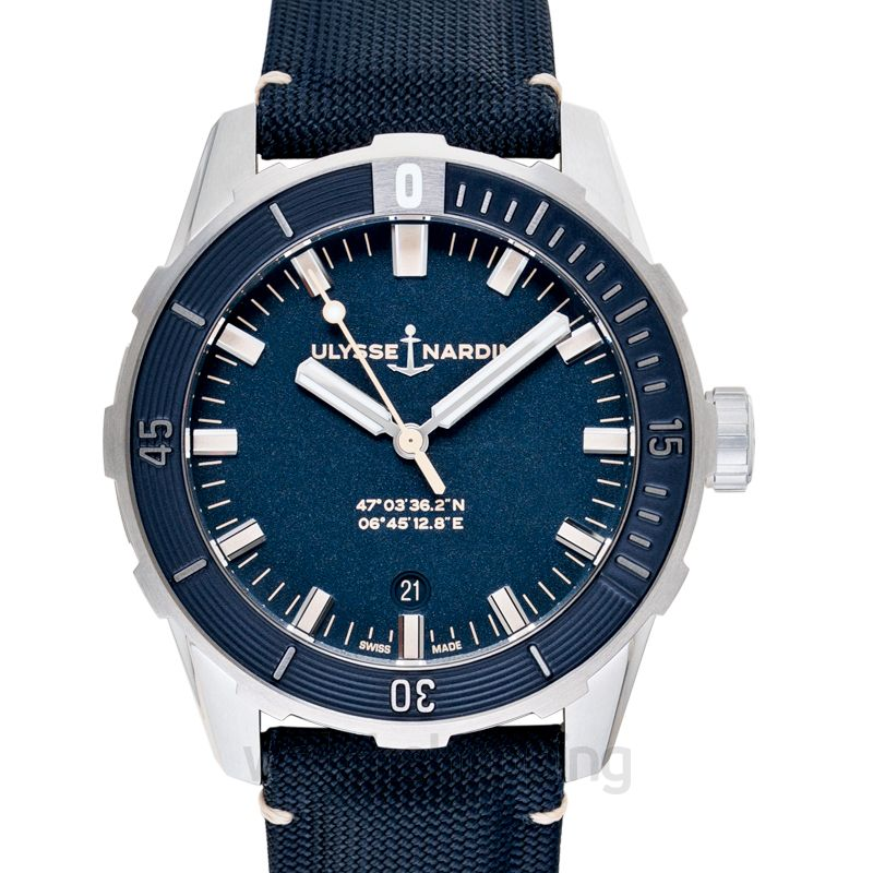 Ulysse Nardin Diver 42 mm Stainless Steel Automatic Blue Dial Men's Watch