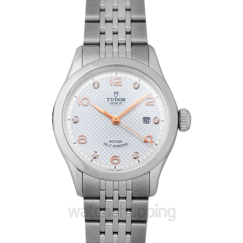 Tudor New Tudor 1926 Baselworld 2018 Stainless Steel Automatic Silver Dial Diamonds Ladies Watch