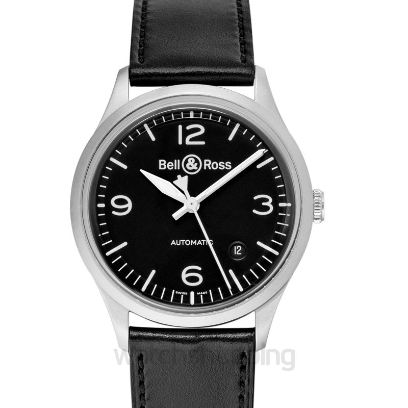 Bell & Ross Vintage BR V1-92 Black Steel Men's Watch