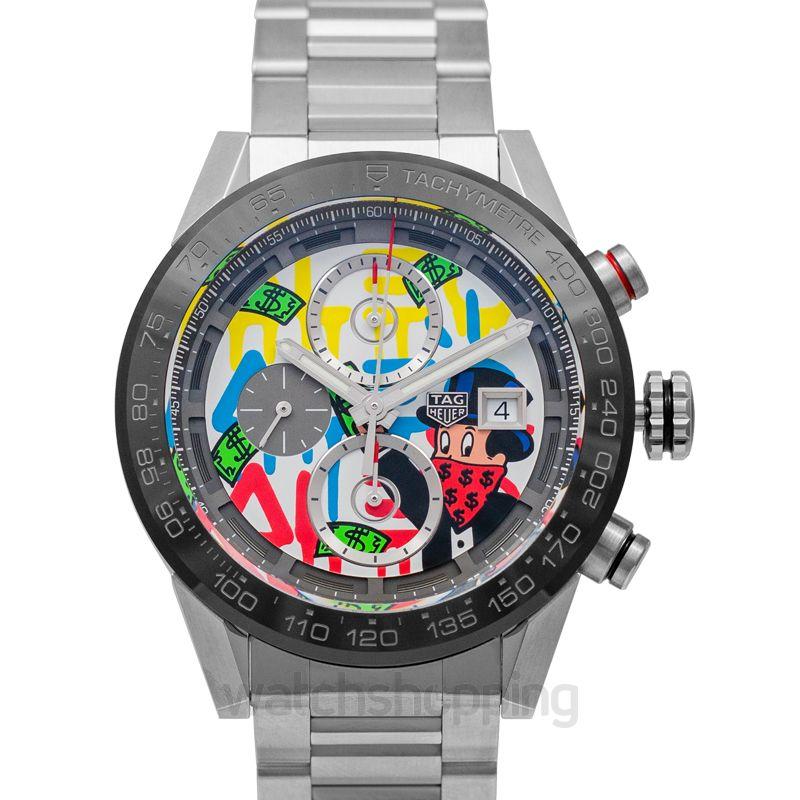 TAG Heuer Carrera Calibre Heuer01 Alec Monopoly Special Edition Automatic Multicolored Dial Men's Watch