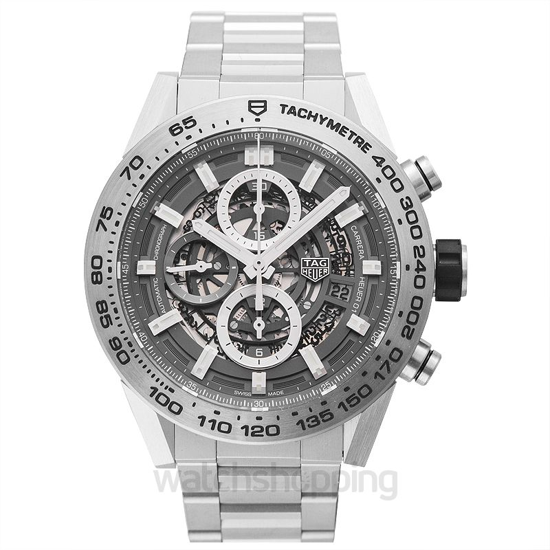 TAG Heuer Carrera Heuer 01 Automatic Skeleton Dial Men's Watch