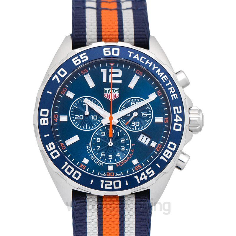 TAG Heuer Formula 1 Chronograph Blue Dial Men's Watch