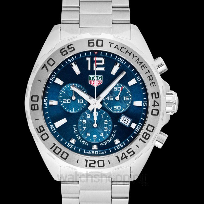 low cost 4e95a 884d7 Formula 1 Quartz Blue Dial Ladies Watch