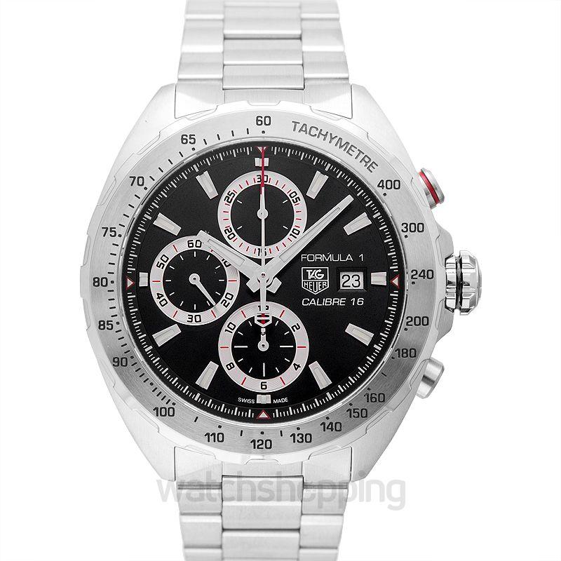 TAG Heuer Formula 1 Calibre 16 Automatic Chronograph Black Dial Men's Watch