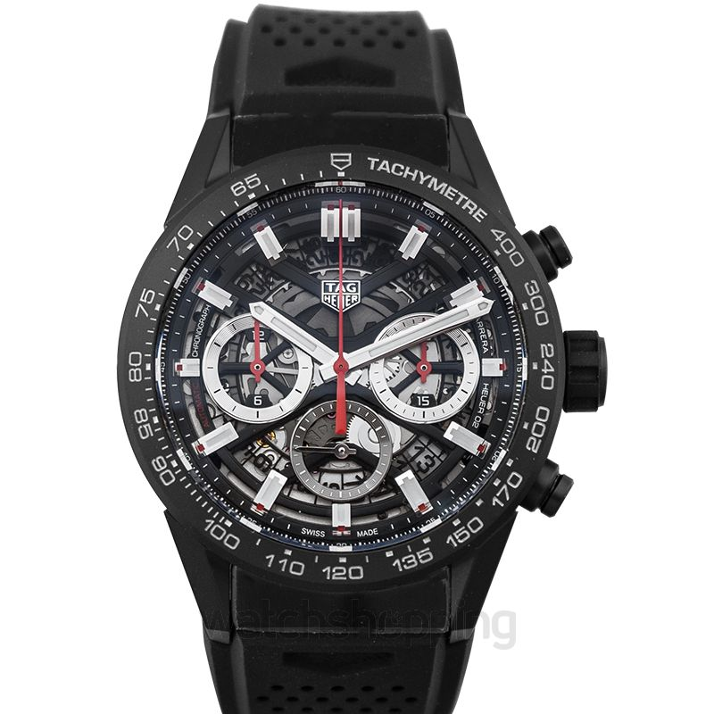 TAG Heuer Carrera Automatic Skeleton Dial Men's Watch