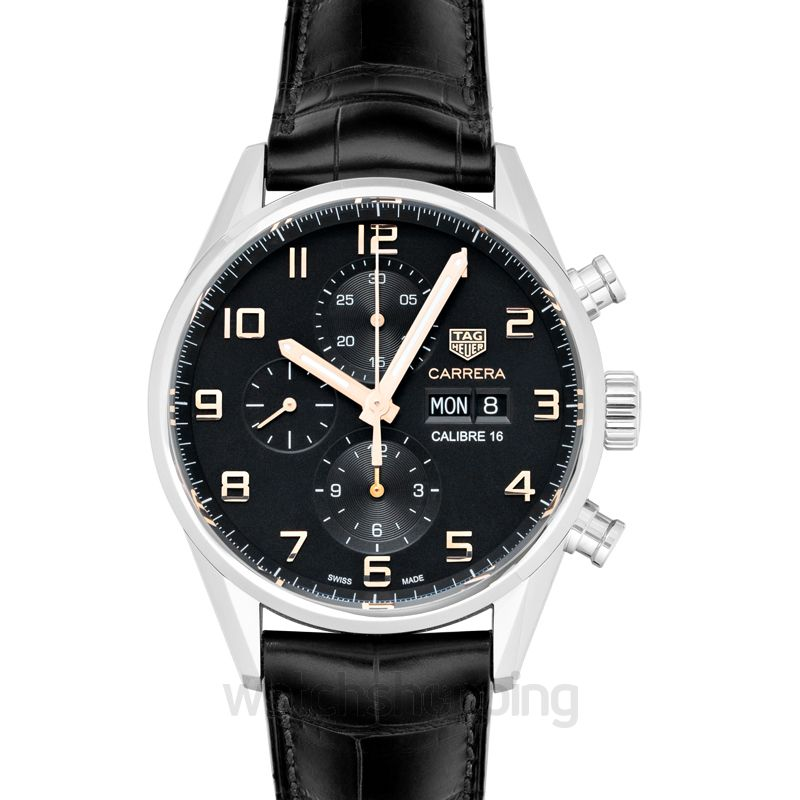TAG Heuer Tag Heuer Carrera Chronograph Automatic Black Dial Men's Watch