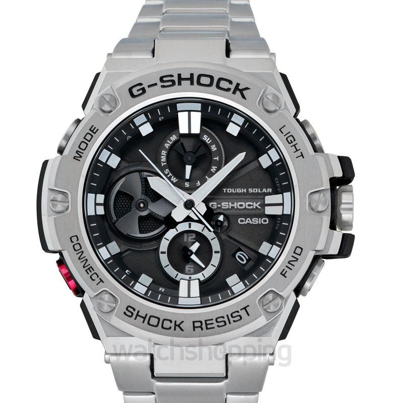 New Casio Casio G Shock G Steel L Tough Solar Gst B100d 1ajf G Shock