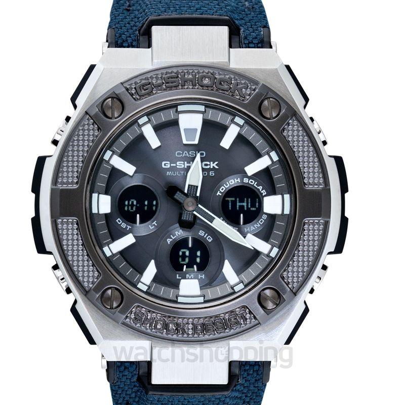 New Casio G Shock G Steel Solar Gst W330ac 2ajf G Shock Watch