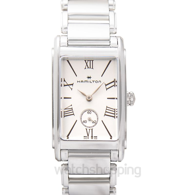 Hamilton American Classic Quartz Silver Dial Stainless Steel Men's Watch