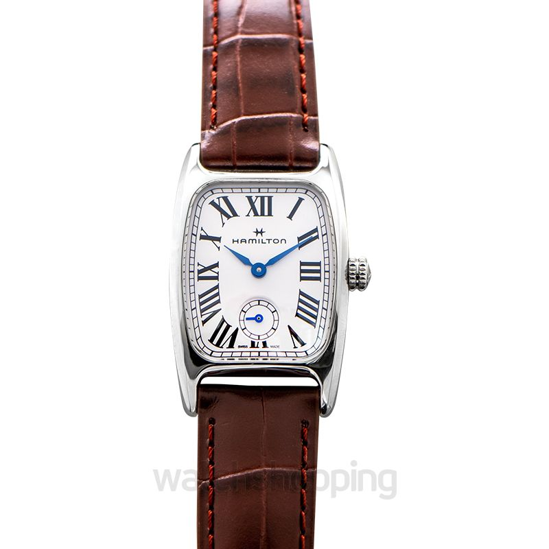 Hamilton American Classic Quartz White Dial Stainless steel Ladies Watch