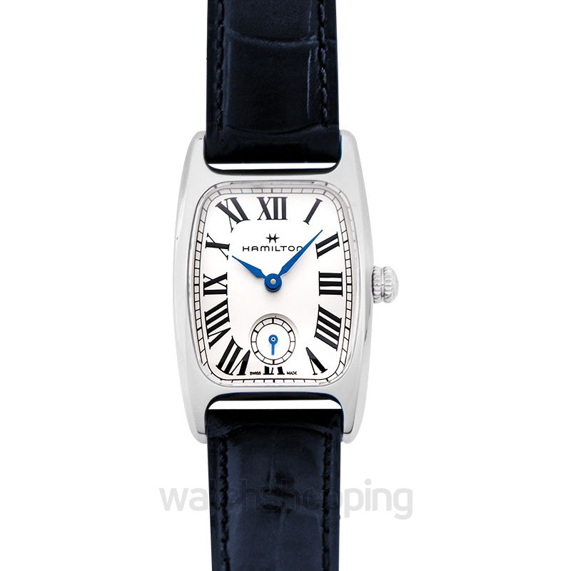 Hamilton American Classic Quartz Silver Dial Stainless steel Ladies Watch