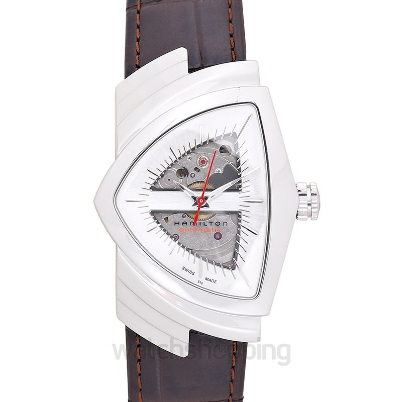 Hamilton Ventura Automatic Silver Dial Stainless Steel Unisex Watch