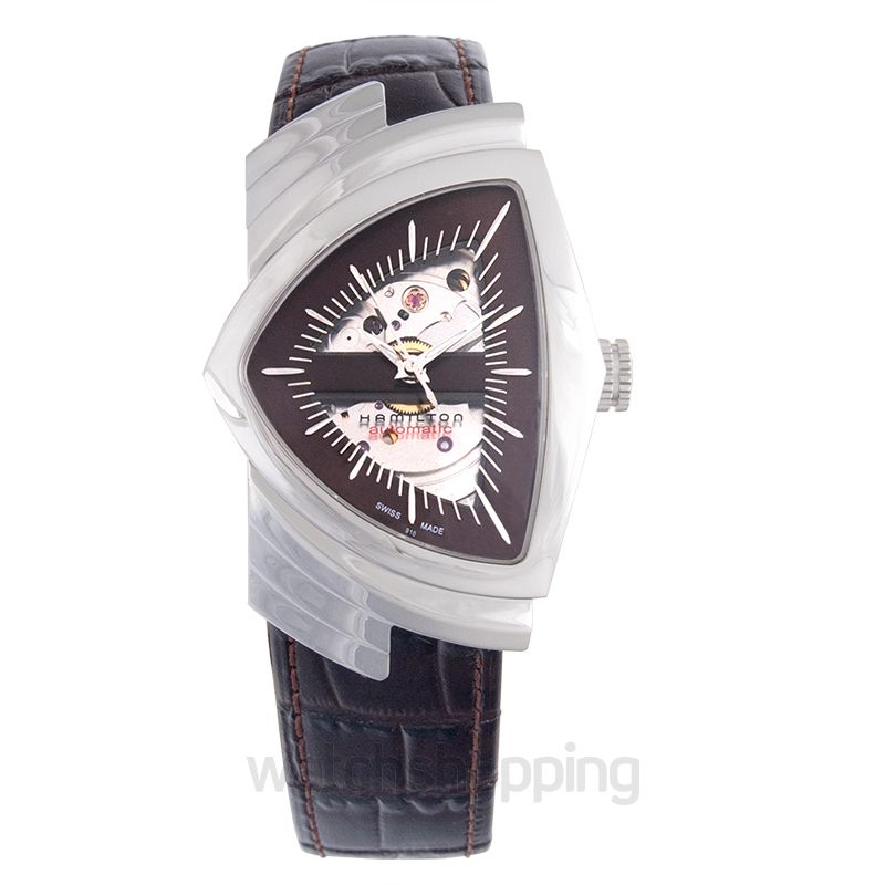 Hamilton Ventura Automatic Brown Dial Stainless Steel Men's Watch
