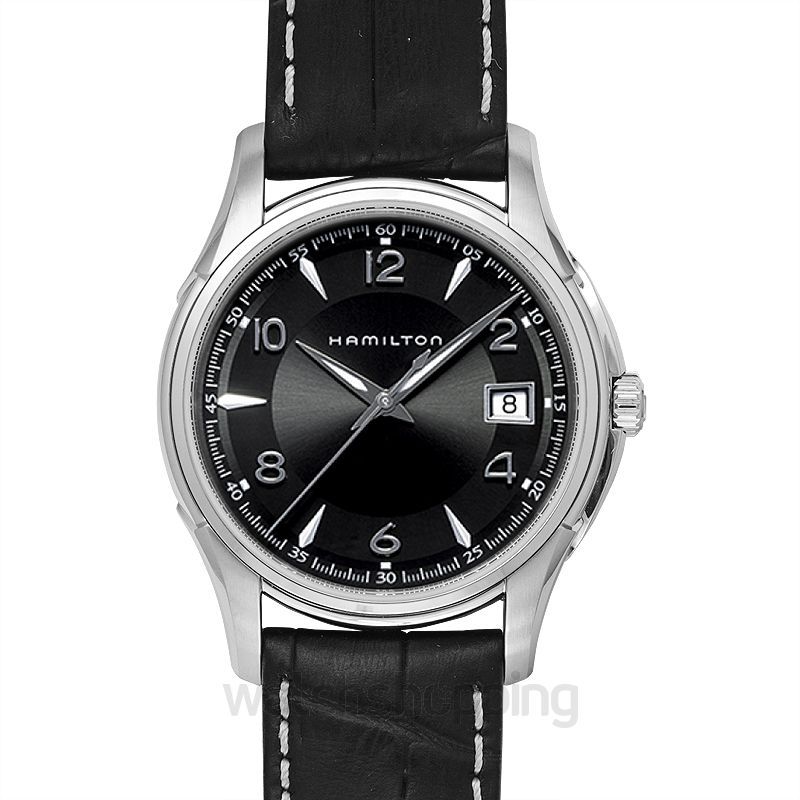 Hamilton Jazzmaster Quartz Black Dial Stainless steel Men's Watch